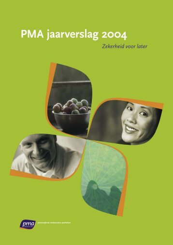 PMA jaarverslag 2004 - Pensioenfonds Medewerkers Apotheken