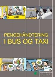 Pengehåndtering i bus og taxi - BAR transport og engros