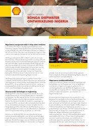 BONGA DIEPWATER ONTWIKKELING NIGERIA