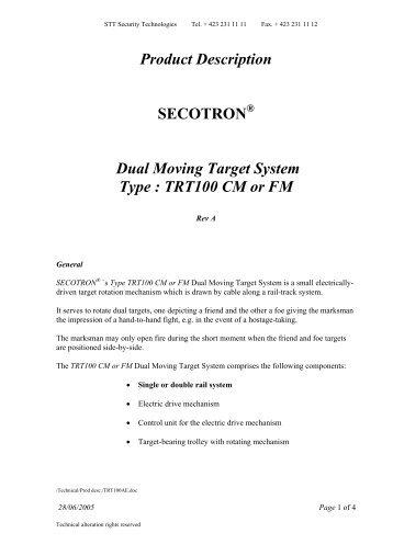 Description TT 100