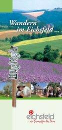 Wandern im Eichsfeld - Ein Überblick