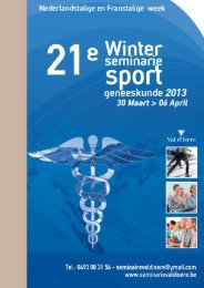 Download de folder - Winter seminarie van sport geneeskunde 2012