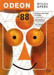 Odeon 88 - start - De Nederlandse Opera