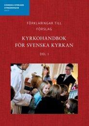 KYRKOHANDBOK FÖR SVENSKA KYRKAN - Kyrkans Tidning