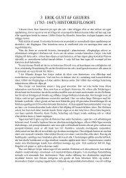 3. erik gustaf geijers historiefilosofi - Henry T. Laurency Publishing ...