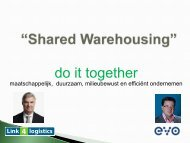 Shared Warehousing - EVO