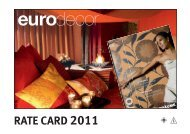 RATE CARD 2011 - MEININGER VERLAG GmbH