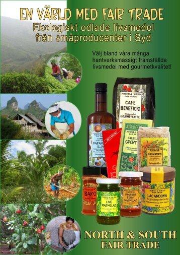 Ekologiska livsmedel - North & South Fair Trade