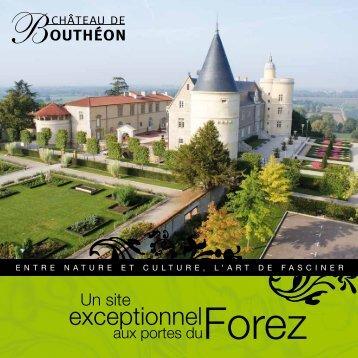 exceptionnel - Château de Bouthéon
