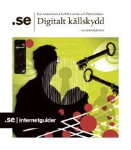 Digitalt källskydd – en introduktion - SE