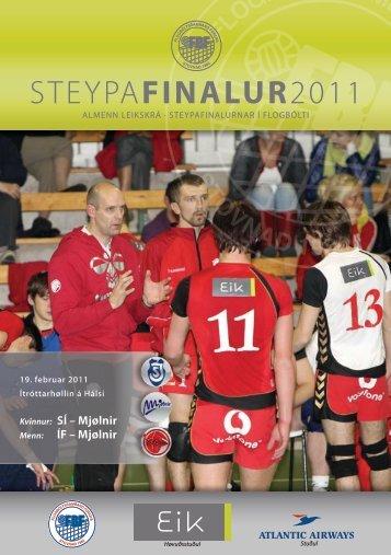 STEYPAFINALUR2011