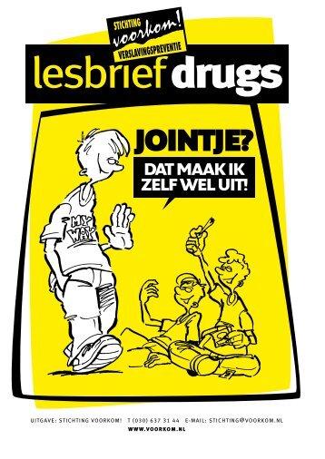 Lesbrief Drugs - Stichting Voorkom!