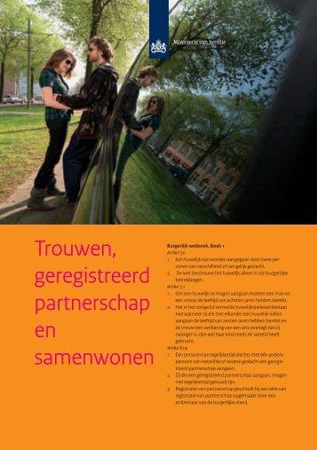 Trouwen, geregistreerd partnerschap en samenwonen - Gemeente ...