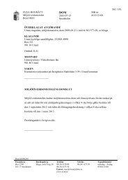 Sid 1 (9) Mål nr M 8115-09 SVEA HOVRÄTT Miljööverdomstolen ...