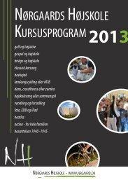 Korte kurser - Nørgaards Højskole