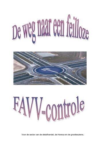 De weg naar een feilloze FAVV-controle