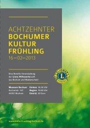Download als PDF 3,6 MB - Lions Bochumer Kultur Frühling 2013