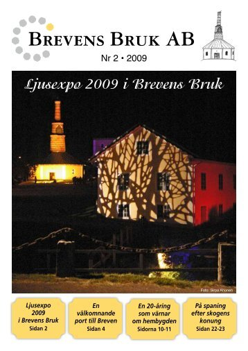 Nr 2 • 2009 - Brevens Bruk AB