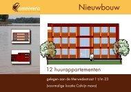 Nieuwbouw 12 huurappartementen Merwedestraat 1 t/m ... - Omnivera