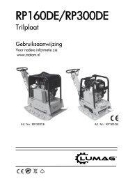 Trilplaat RP160HP - Matom