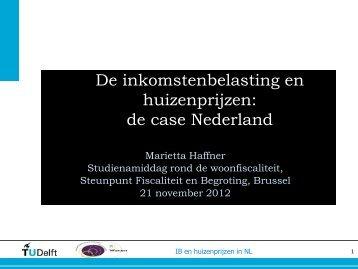 presentatie Marietta Haffner - Steunpunt Fiscaliteit en Begroting