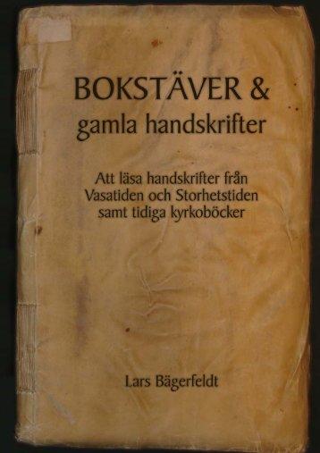 55 Bokstäver och gamla skrifter