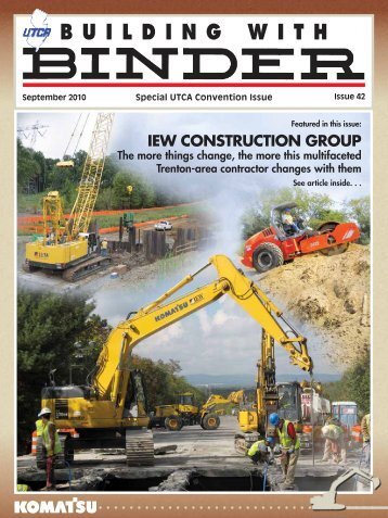 IEW CONSTRUCTION GROUP - Building With Binder Magazine
