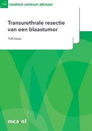 mca.nl Transurethrale resectie van een blaastumor