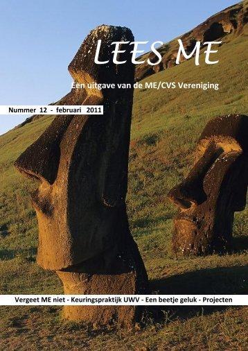 Lees ME is - ME|cvs Vereniging