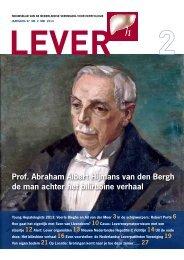 nummer 2 - Nederlandse Vereniging voor Hepatologie