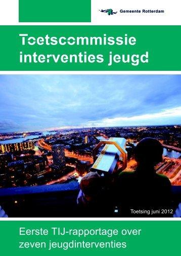 Toetscommissie interventies jeugd - Thuis Op Straat