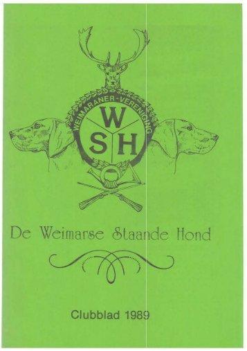 Editie 1 - De Weimarse Staande Hond