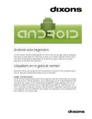 Android voor beginners Uitpakken en in gebruik nemen - BAS Group