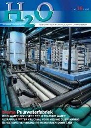 thema Puurwaterfabriek - H2O - Tijdschrift voor watervoorziening en ...