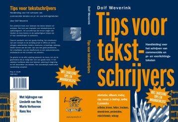 Tips voor tekstschrijvers - Leporello Uitgevers