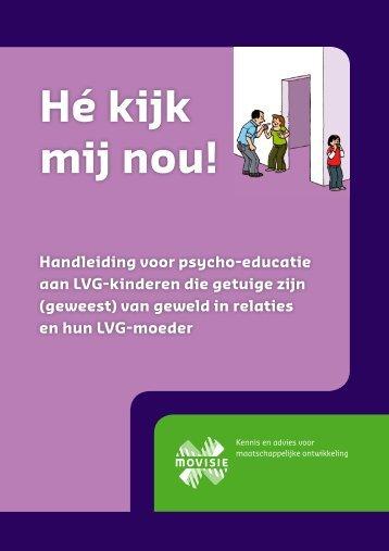 Folder hé kijk mij nou - Huiselijk Geweld Brabant