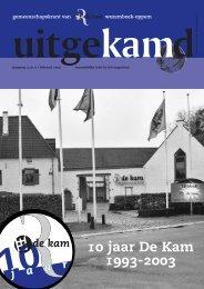 Download PDF - de Kam