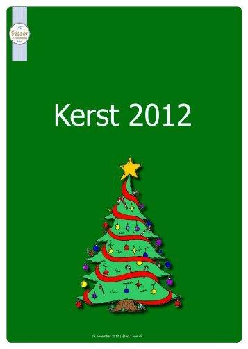 Kerst 2012 - Visser Zoetwaren
