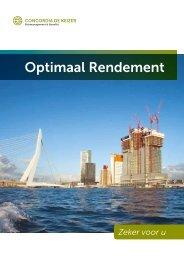 Optimaal Rendement - Concordia