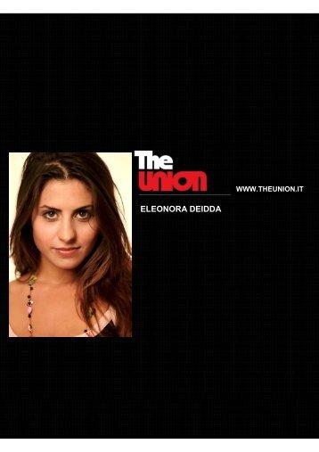 ELEONORA DEIDDA - the union