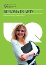 Diploma in Arts (graduate entry)