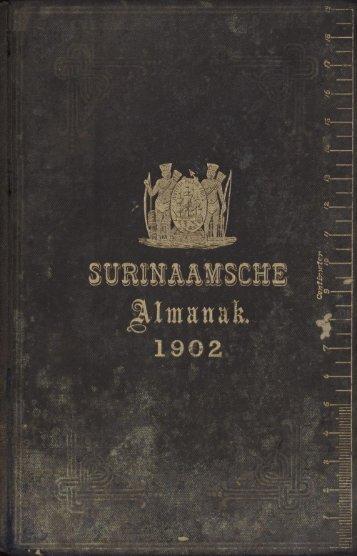 Surinaamsche almanak voor het jaar 1902 - Manioc