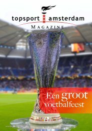 Eén groot voetbalfeest - Topsport Amsterdam