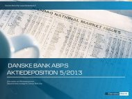 Produktbroschyr (pdf) - Danske Bank