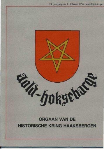Februari - Historische Kring Haaksbergen