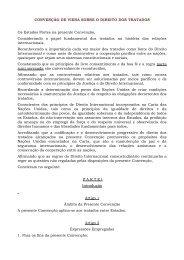 CONVENÇÃO DE VIENA SOBRE O DIREITO DOS TRATADOS Os ...