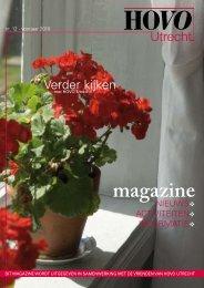 HOVO Utrecht Magazine nr. 12 Voorjaar 2010