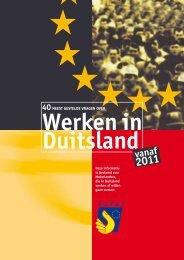 40 vragen werken in Duitsland - Grenzinfopunkt