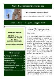Sogneblad 2012-2 - Sankt Laurentii Kirke