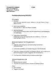 Sörgårdens Förskola Kvalitetsredovisning 2010/2011 Grundfakta ...